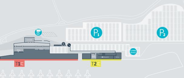 parkeren charleroi airport